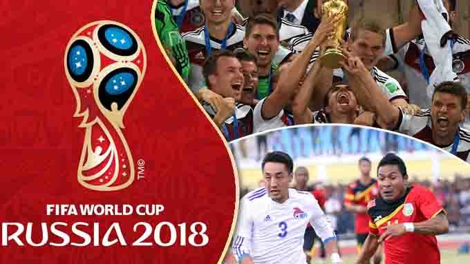 เริ่มแล้ว !! ฟุตบอลโลก 2018 รอบคัดเลือก เส้นทางสู่รัสเซีย