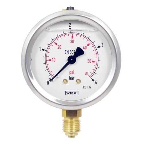 เกจวัดแรงดัน pressure gauge หน้าปัด 2 1/2 นิ้ว
